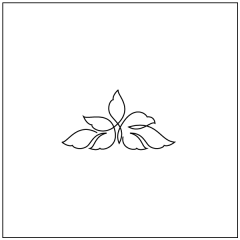 Wavy Leaves - Triangle Block