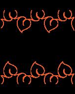 Butterfly Bliss - Border - Pantograph