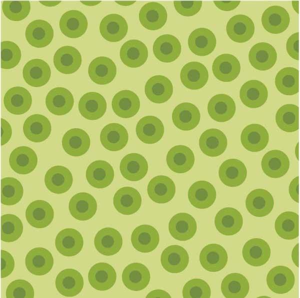 Lily's Garden Dot Toss Lt. Green - RJR Fabrics
