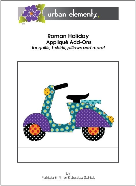 Roman Holiday - Applique Add-On Pattern