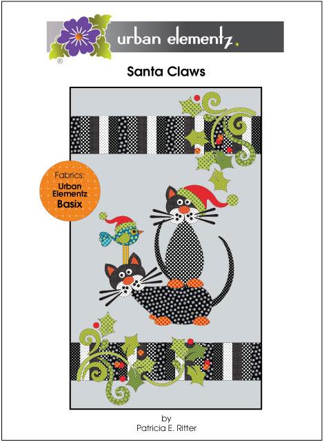 Santa Claws - Applique Quilt Pattern