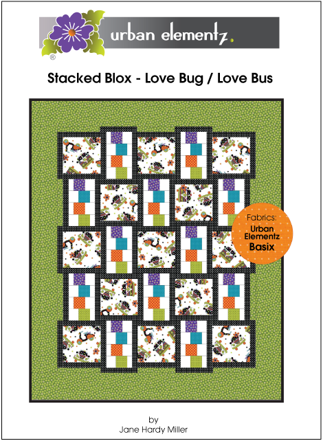 Stacked Blox - Love Bug / Love Bus - Pattern