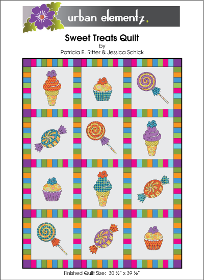 Sweet Treats - Applique Quilt Pattern