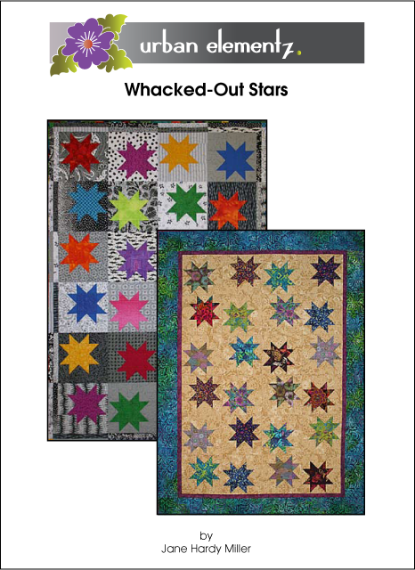 Whacked Out Stars - Pattern